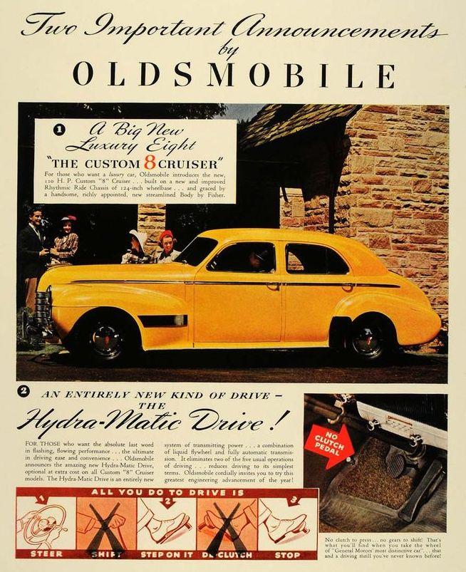 Автомобиль oldsmobile