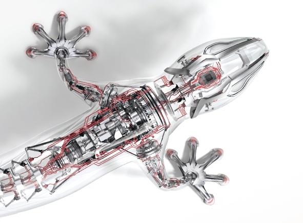 Электромеханический геккон