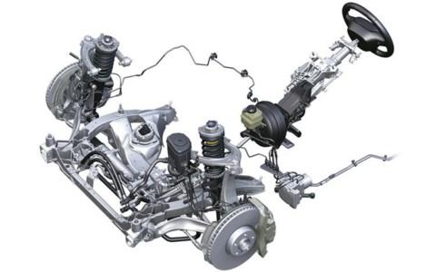 Общий вид активного рулевого управления