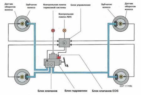 Схематическое изображение системы