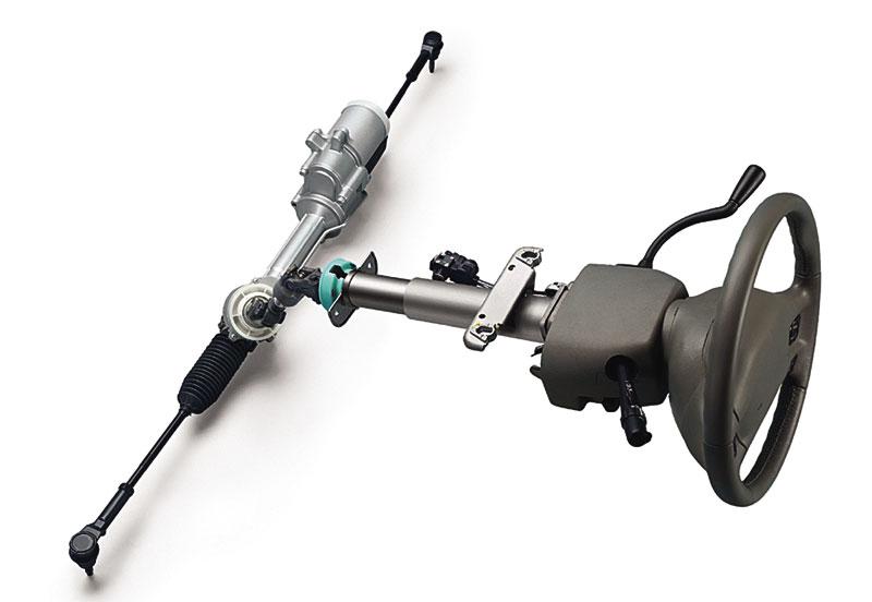 Электрический усилитель, встроенный в рулевую рейку