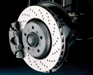 Тормозной диск вентилируемой конструкции