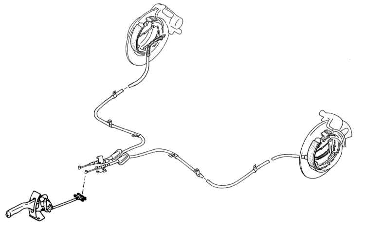 Схема стояночного тормоза