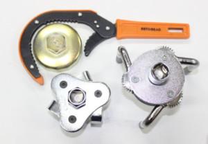Виды ключей для масляных фильтров