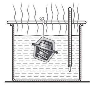 Проверка автомобильного термостата со снятием