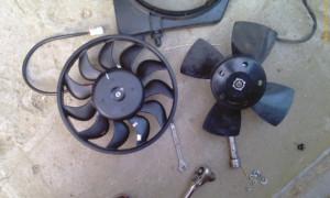 Типы вентиляторов охлаждения мотора
