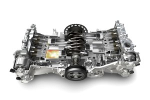 Как устроен оппозитный двигатель
