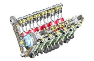 Как устроен V-образный двигатель