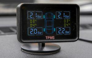 Дисплей системы контроля давления