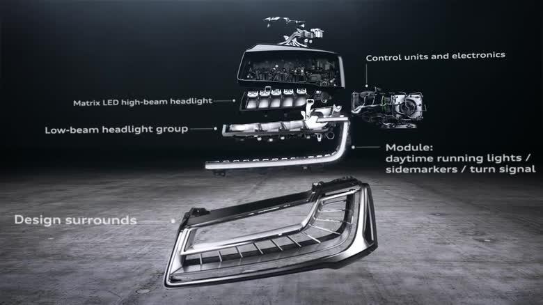 Фара Audi Matrix LED