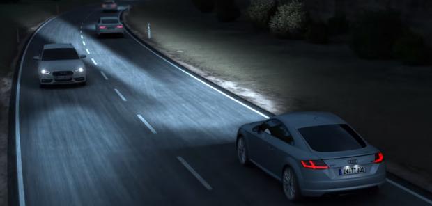 Система Matrix LED от Audi