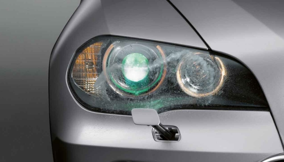 BMW Headlight washer