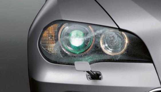 BMW Headlight washer
