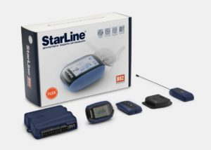 Модель охранного комплекса от компании StarLine