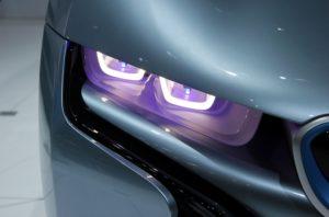 лазер в фарах BMW