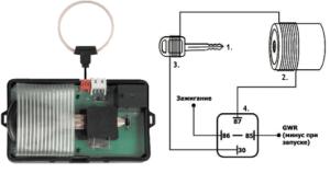 Модуль обходчика и схема