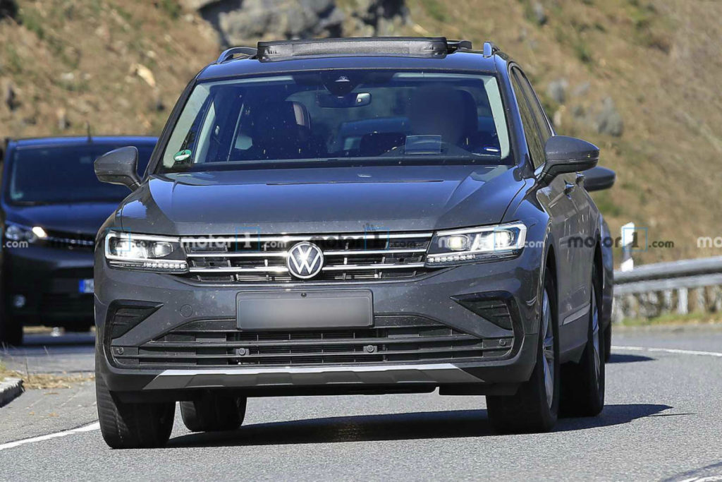Новая версия Volkswagen Tiguan полностью рассекречена