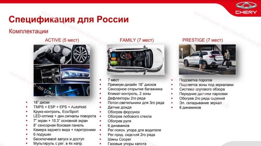 В России появилась самая дешевая версия флагмана Chery Tiggo 8