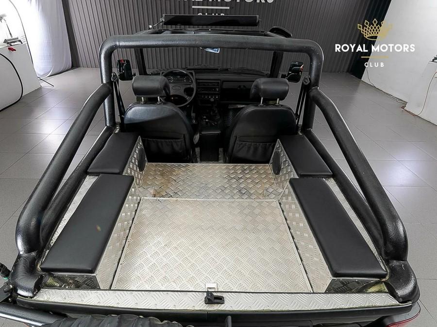 Уникальную LADA 4x4 кабриолет в единственном экземпляре выставили на продажу